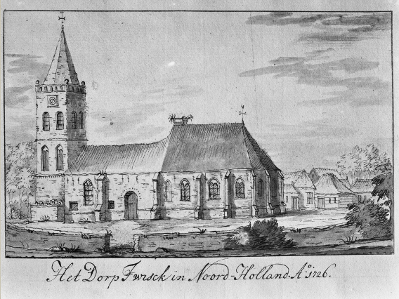 Oude Bouwtekeningen Kerk Twisk